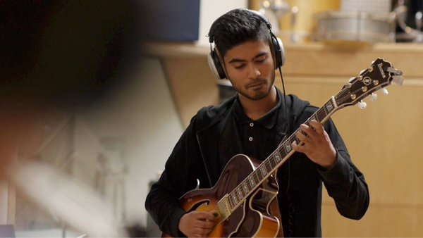 Foto: Prashant Samlal, winnaar van de Conservatorium Talent Award 2018